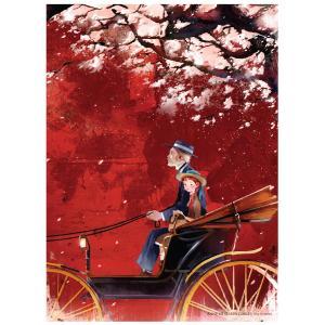 赤毛のアン イラストパズル 500ピース レッド 380×520mm (絵:キム・ジヒョク) puzzle ANNE OF GREEN GABLES|niyantarose