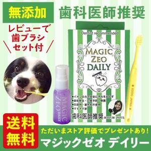 マジックゼオDAILYに、EDOG JAPANオリジナル歯ブラシをセットにした、お得な商品となってお...