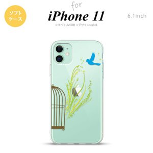 iPhone11 ケース ソフトケース 青い鳥 黄  +:-:+:-:+:-:+:-:+:-:+:-...