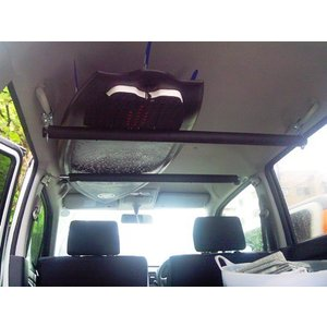 車内キャリア ピラー&手すりタイプ 中積み 積載 サーフボード スノーボード スノボ ファンボード ...
