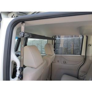 車内 キャリア N BOX+ エヌボックスプラス サーフボード スノーボード ラック 脚立 中積み