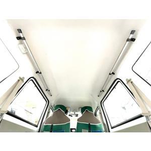 車内キャリア エブリイ DA17W・DA17V スクラムワゴン NV100 サイドバー サーフボード...