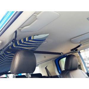 車内キャリア 改良版 FJクルーザー サイドバー&スライドバーセット サーフボード スノボ ラック ...