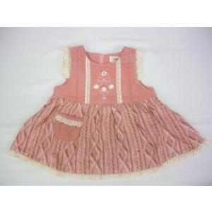 ブランド スーリー。スーリーらしいかわいいデザイン、シルエットです。無地部コーデュロイ素材、スカート...