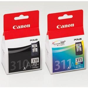 BC-310+BC-311 キャノン純正インク 2箱組 黒+3色カラー
