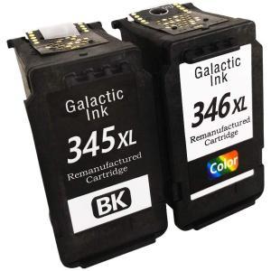 BC-345XL BC-346XL対応リサイクルインク ブラック1個+カラー1個 合計2個セット 残...