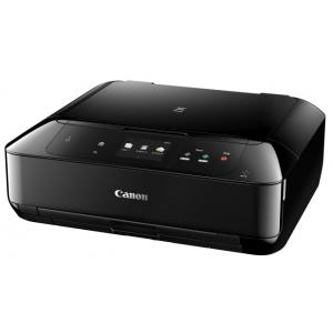 Canon A4インクジェット複合機[無線LAN 有線LAN USB2.0] PIXUS MG7730BK <ブラック>展示