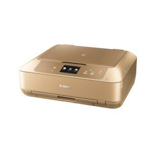 Canon A4インクジェット複合機[無線LAN 有線LAN USB2.0] PIXUS MG7730GL <ゴールド>