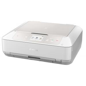 Canon A4インクジェット複合機[無線LAN 有線LAN USB2.0] PIXUS MG7730WH <ホワイト>