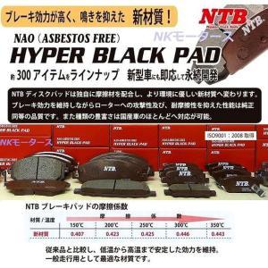 フロントブレーキパッド 三菱iアイ  HA1W フロントパッド 高品質メーカーNTB製
