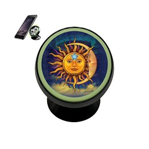 Sun Moon Magnetic Phone Car Mount Holder Universal...