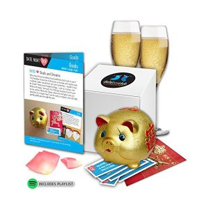 DATE NIGHT Box- Our Special Goals Prosperity Pig i...