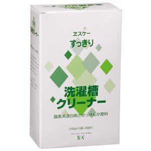 エスケー石鹸 すっきり洗濯槽クリーナー  500g×2袋|nm-asteria