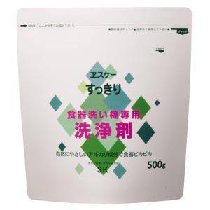 エスケー石鹸 すっきり食器洗い機専用洗浄剤 500g|nm-asteria