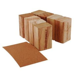 喜多製材所 天然ブロックくすの木8個組(紙ヤスリ付) nm-asteria
