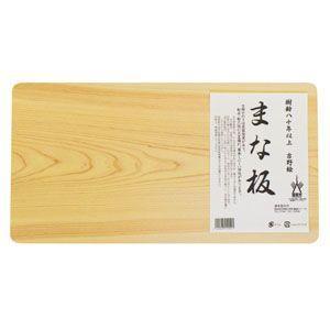 喜多製材所 吉野桧まな板・大 (約24.5×45.5cm、厚さ:約2.8cm ) nm-asteria