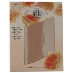 神戸生絲 シルクサポート パンティストッキング サンドベージュ(Lサイズ)|nm-asteria