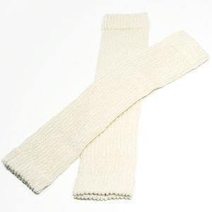 シルクの快適ひざサポーター(薄手)・2枚組 オフホワイト 神戸生絲|nm-asteria