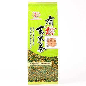 有機玄米茶 150g 播磨園|nm-asteria