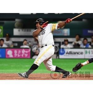 1号本塁打を放つデスパイネ【アルフレド・デスパイネ2017-...