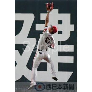打球を好捕する上林【上林誠知2017-13】写真プリント・A5/福岡ソフトバンクホークスの厳選ベストショット|nnpcontents