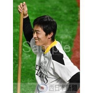 練習の合間に笑顔を見せる和田【和田毅2017-08】写真プリ...