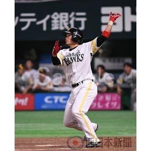 左翼席にサヨナラ2ランを放つ吉村【吉村裕基2016-01】写...