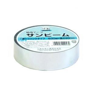 防虫 防虫テープ 3cm×200m 銀色|nns