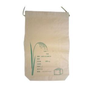 米袋 米用紙袋紐付 20kg用 1枚
