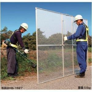 ガーネット 草刈作業の飛散ガード HBE-1827K(取付け用パッカー)|nns