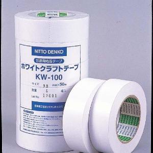 クラフトテープ 白 POS38mmX50m|nns