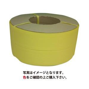 PPバンド 幅15.5mm×長さ2500m 黄