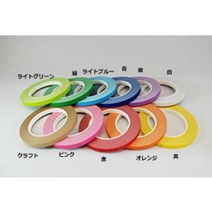 紙バッグシーリングテープ 1巻 9mm×50m クラフト nns