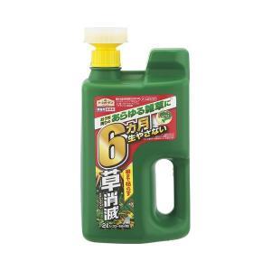 すばやく効いて6か月間効果が持続する除草剤!