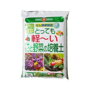 とっても軽〜い花と野菜の培養土 25L