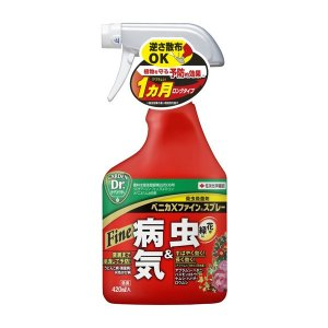 草花、花木や庭木の幅広い植物に使える殺虫殺菌剤です。<br> 害虫に対しては速効性と持続...