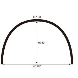 トンネル栽培用 AGトンネル支柱  50本セット 径11mmX長さ210cm nns
