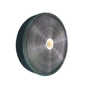 オリジナル灌水チューブ 黒 幅5cm×両面孔 厚さ0.12mm×長さ200m ピッチ10cm 孔径0.6mm 10巻セット|nns