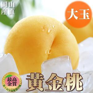 内容物 「黄金桃」約340g×5個(岡山県産)  ※出荷に関して 9/10〜9/30日頃の収穫を予定...