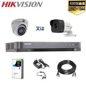 [HIKVISION][TVi-5M] 防犯カメラ 監視カメラ 屋外 屋内 500万画素 高画質 C...