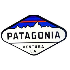 patagonia (パタゴニア) Fitz Roy Crest ステッカー