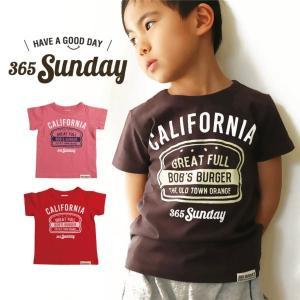 子供服 365SUNDAY Burger Trip Tシャツ 80cm 90cm 100cm 110...
