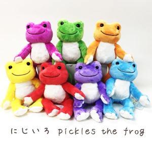 107213-275/ナカジマコーポレーション/【pickles the frog /にじいろピクルス】ビーンドールぬいぐるみ/玩具/ヌイグルミ/TOY/おもちゃ/インテリア/子供|noahs-ark
