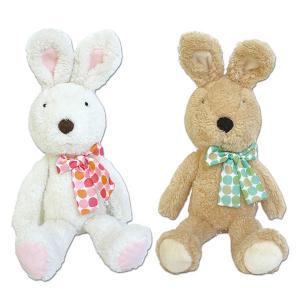 le Sucre(ル シュクル) リボンぬいぐるみ(小) 112-0046ン うさぎ ウサギ 戸崎尚美 動物 玩具 TOY おもちゃ|noahs-ark