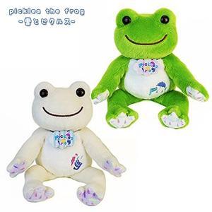 雲とピクルス ビーンドール  限定 ぬいぐるみ 146809-16 ナカジマコーポレーション pickles the frog H16xW15xD15cm noahs-ark