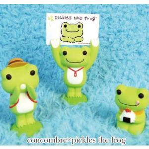 コンコンブル×ピクルス フィギュア 149299-312 concombre×pickles the frog noahs-ark