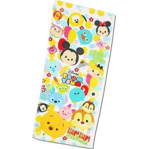 選べる3P¥1,110対象商品/フェイスタオル CMFT-02 Disney ディズニー ツムツム tsumtsum ドット キャラクター コットン 綿 洗面所 洗顔 手洗い 汗 noahs-ark
