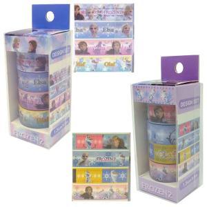 アナと雪の女王2 27314-15(14/アナ雪A) マスキングテープ4Pセット Disney ディズニー キャラクター 包装 装飾 デコレーション noahs-ark