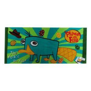 選べる3P¥1,110対象商品/ディズニー フィニアスとファーブ フェイスタオル [Phineas and Ferb] 31696338/スポーツ/プール/水遊び/手ぬぐい|noahs-ark