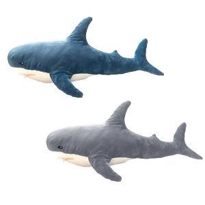 サメ 5969 ふかふか BIG ぬいぐるみ ジャンボ 100cm インテリア 添い寝 抱き枕 クッション 海洋生物 さめ shark シャーク 玩具 寝具 noahs-ark